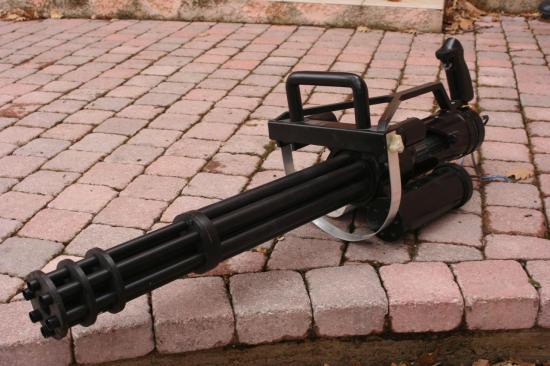 M134 Minigun homemade